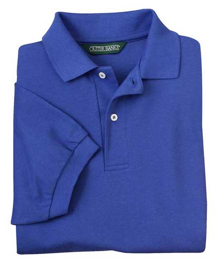 Outer Banks pique knit polo shirt